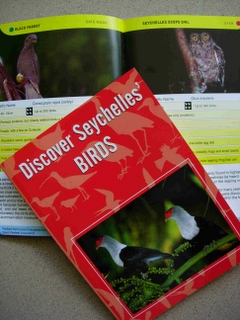 Book cover discover sey birds